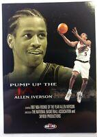 1998 98 Skybox NBA Hoops Pump up the Jam Allen Iverson #PJ2, Insert, 76ers