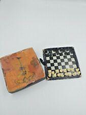 Vintage Soviet magnetic pocket chess 1962