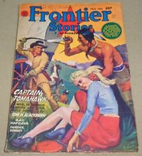 Vintage Fall 1944 FRONTIER STORIES Pulp Magazine