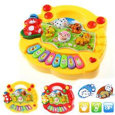 Baby Kids Musical Instrument Educational Toy Animal Farm Piano Developmental Toy
