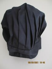 New listing Chef Works Unisex Chef Hat One Size Black New!