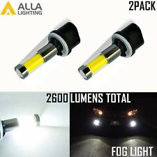 AllaLighting 6000K 880 LED Fog Light Bulb Cornering Lamp Replacement Xenon White