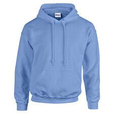 Mens Adult Gildan Heavy Blend Hoodie Hooded Plain Colour Sweatshirt Top