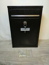 Lockable Letterbox Post Box Mailbox System Unit Wall Mounted Outdoor Storage UK