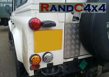 Land Rover Defender Rundes Nebelschlußleuchte Licht und Lünette LED NAS TD5