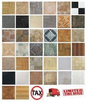 Vinyl Floor Tiles Self Adhesive 20 Sq Ft Peel N Stick Flooring Set Home 20 Pack