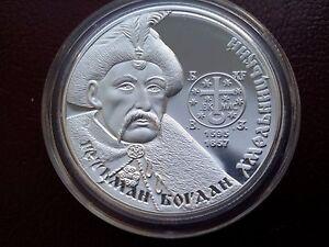 Ukraine,10 Hryven, Bogdan Khmelnitsky , Silver 2015