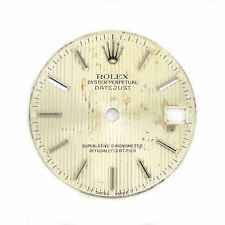 Rolex Datejust Dial Silver With Silver Markers Fits Model 68273 24mm