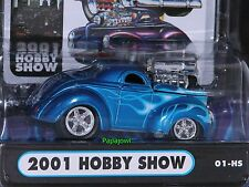 Muscle Machines 2001 Hobby Show 1941 Willys 41 Hot Rod Limited Release 1:64
