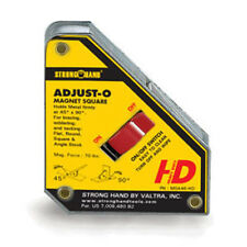 StrongHand Adjust-O Magnet Square with On/Off Switch SMALL Welding MIG TIG ARC