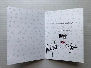 THE BERNIE MAC SHOW FOX TV Holiday Card SIGNED By Bernie Mac & Kellita Smith