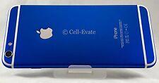 Apple iPhone 6 - 64GB - Silver Custom Royal Blue