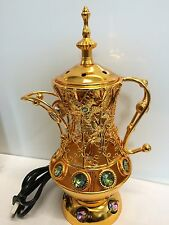 YASMEEN Teapot Shape Electric Bakhoor Bakhor Incense Burner USA Seller New