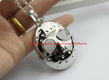 Friday the 13th Jason's Mask Horror Pendant with Necklace