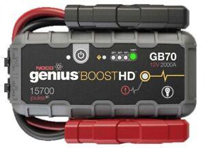 NOCO GENIUS BOOST GB70 Jump Starter Batterie Starthilfegerät 12V 2000A