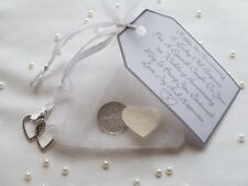 First Wedding Anniversary Lucky Sixpence Gift & Charm – 1st