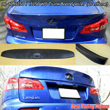 WD Style Rear Trunk Spoiler Wing (Urethane) Fits 06-13 Lexus IS250 IS350