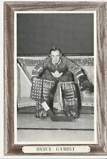1964-67 Beehive Group III Photos Toronto Maple Leafs Bruce Gamble