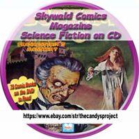 Skywald Comics Magazine PDF Horror Anthologies Nightmare, Psycho, and Scream CD