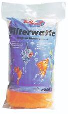 Filterwatte 250 gr. orange extra grob für Gartenteichfilter Teichfilterwatte