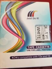 Moleshine compatible label cartridge for brother TZ and TZe (1inch)