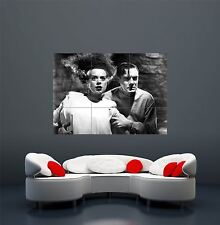 SPOSA di Frankenstein Classico Retrò Vintage Horror Film GIANT POSTER STAMPA x1686