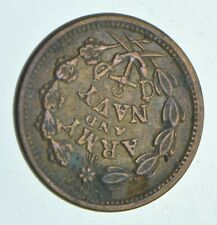 Authentic ORIGINAL Civil War Token - Army & Navy - The Federal Union *480