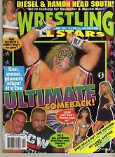 WRESTLING ALL STARS HEROES & VILLAINS #87 OCTOBER 1996 ULTIMATE WARRIOR WWE WWF