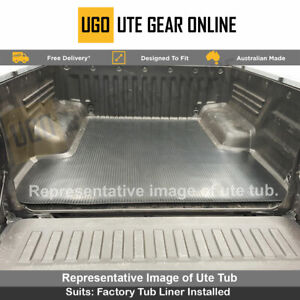 Holden Commodore VU - VY  - VZ Ute Tub Rubber Mat Single Cab