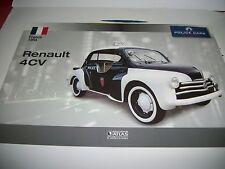Fascicule  RENAULT 4 CV POLICE  DE 1953 ANS  DE CHEZ ATLAS NEUF