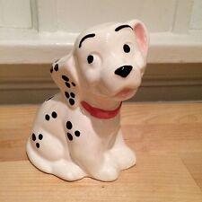 Vintage Disney Ceramic 101 Dalmatians Puppy Dog Toothbrush Holder Figurine
