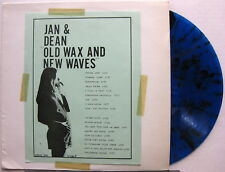 JAN & DEAN Old Wax And New Waves BLUE SPLATTER COLORED VINYL WRMB 348