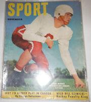Sport Magazine Bill McColl & Bill Ezinicki November 1951 NO ML 072414R
