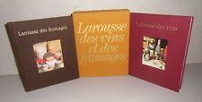 Larousse des vins et des fromages. 2 volumes en coffret  CB21