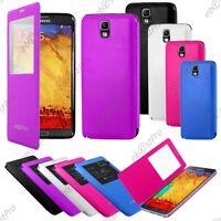 Accessoire Housse Coque Etui S-View Flip Cover Samsung Galaxy Note 3 Lite N7505