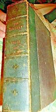 Antique Book The Century Leather-Bound Vol. 17 Nov 1889 to Apr 1890