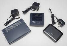 Lot of 3 ADSL Modems: Zyxel 660R / Zyxel 645R / Actiontec GT701D