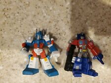 Transformers Heroes of Cybertron G1 Optimus Prime and Ultra Magnus Lot of 2