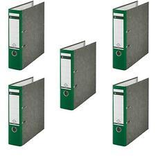 5 Stück Leitz 1080 Qualitaets Ordner Breit grün