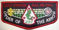 AAL PA TAH 237 PATCH NOAC 2015 OA 100TH CENTENNIAL HOST FLAP GMY ONLY 120 MADE!!