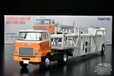 [TOMICA LIMITED VINTAGE NEO LV-N89d 1/64] HINO TRACTOR + ANTICO CAR TRANSPORTER