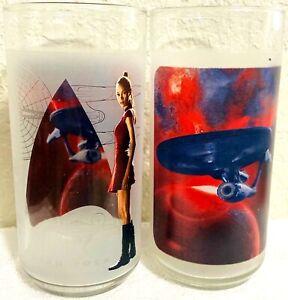 Star Trek Uhura Glass Burger King - Set of 2