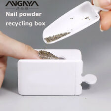 Dipping Powder Recycling Tray Nail Sequin Glitter Storage Box Manicure Tool