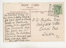 Teignmouth [1] Squared Circle Postmark 26 Sep 1905 443b