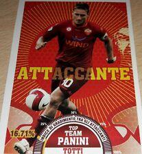 AGGIORNAMENTO FIGURINE CALCIATORI PANINI 2007/08 ROMA TOTTI T11 ALBUM