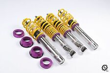 2011-2012 VW Jetta TDI Sedan KW Variant 1 Coilovers Adjustable Lowering Coils