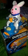 DURACELL SPACE SCOOTER BUNNY FIGURE PLUSH - Peluche Doll Pubblicità Advertising