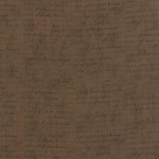 Moda 3 Sisters Mille Couleurs Ledger Etchings Fabric in Walnut 44090-12