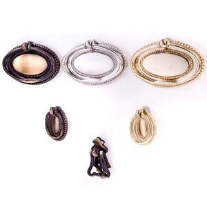Drop Ring Pull Handles & Screws 1 2 4 10 30 PACKS Furniture Drawer Cupboard Door