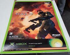 Halo 2 Very Rare Official Promo Poster 84x60cm A1 Xbox Original